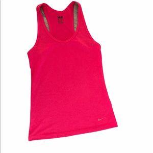 Nike Dri Fit pink Tank Top Size  XS